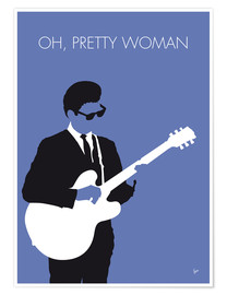Poster Premium Roy Orbison - Oh, Pretty Woman