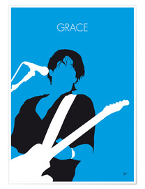 Poster Premium Jeff Buckley - Grace