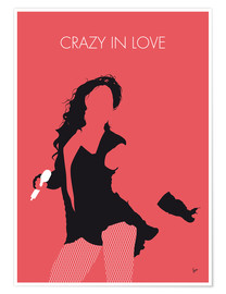 Poster Premium Beyoncé - Crazy In Love