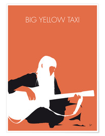 Poster Premium Joni Mitchell - Big Yellow Taxi