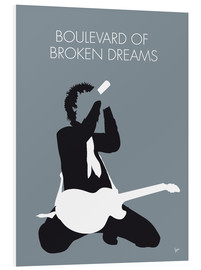 Stampa su schiuma dura  Green Day - Boulevard Of Broken Dreams - chungkong