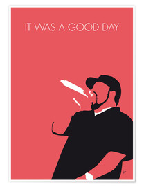 Poster Premium Ice Cube - It Was A Good Day