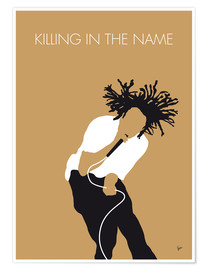 Poster Premium Rage Against The Machine - Killing In The Name