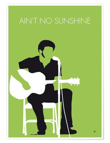 Poster Premium Bill Withers - Ain't No Sunshine