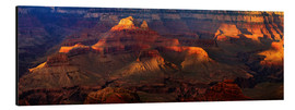 Stampa su alluminio  Grand Canyon insight - Michael Rucker