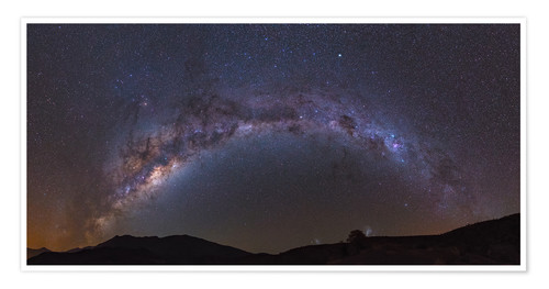 Poster Premium southern Milky Way