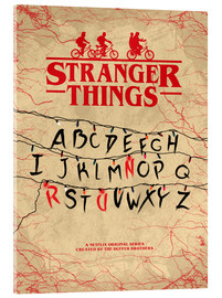 Vetro acrilico  Stranger Things - Minimal TV show fanart alternative - HDMI2K