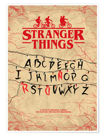 Poster Premium  Stranger Things - HDMI2K