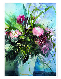 Poster Premium Bouquet with peony