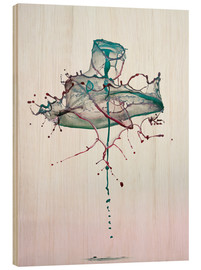 Legno  Water drops - mess - Stephan Geist