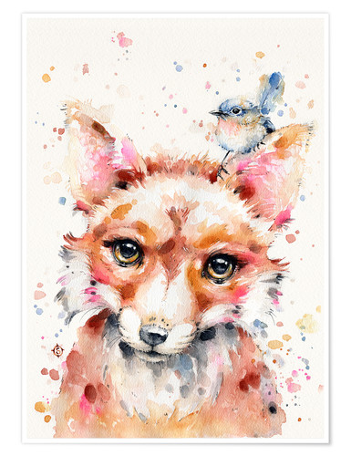 Poster Little Fox