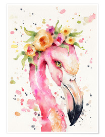 Poster Little flamingo