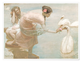 Poster  Rupert Bunny   A summer morning   Google Art Project - Rupert Bunny