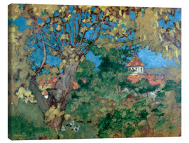 Stampa su tela  The House in Grand-Lemps - Pierre Bonnard