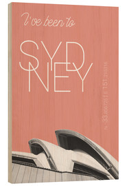 Legno  Popart Sydney Opera I have been to color: blooming dahlia - campus graphics