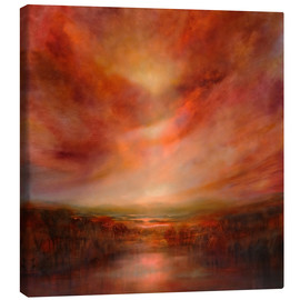 Stampa su tela  evening glow - Annette Schmucker