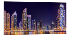 Alluminio Dibond  Panoramic view - Dubai Marina Bay