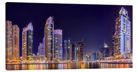 Tela  Panoramic view - Dubai Marina Bay