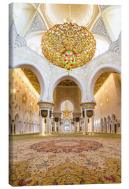 Tela  Gold sheen of the Sheikh Zayed Mosque
