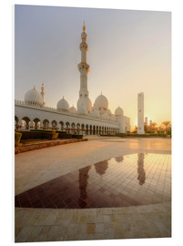 Forex  Sheikh Zayed mosque in golden robe