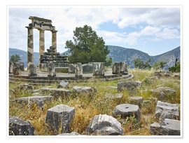 Poster Premium  Athena Pronaia Sanctuary - site of Delphi
