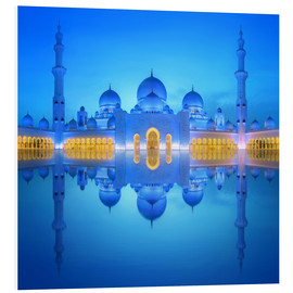 Forex  Sheikh Zayed Grand Mosque at blue