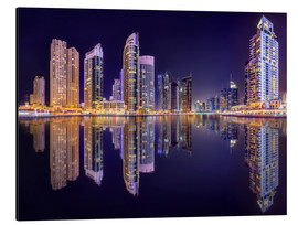 Alluminio Dibond  The beauty of the marina in Dubai
