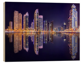 Legno  The beauty of the marina in Dubai