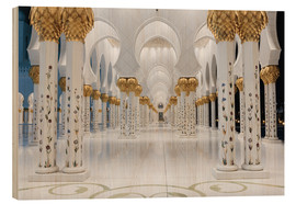 Legno  famous Sheikh Zayed mosque