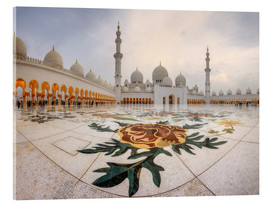 Vetro acrilico  Place of the Sheikh Zayed Grand Mosque