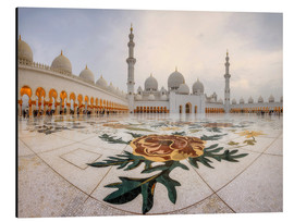 Alluminio Dibond  Place of the Sheikh Zayed Grand Mosque