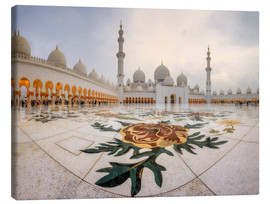Tela  Place of the Sheikh Zayed Grand Mosque