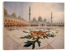 Legno  Place of the Sheikh Zayed Grand Mosque