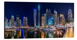 Alluminio Dibond  The fascination of Dubai Marina Bay