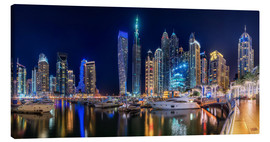Tela  The fascination of Dubai Marina Bay