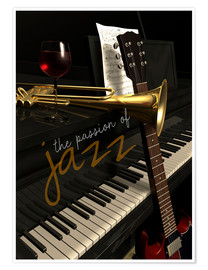 Poster Premium passion of Jazz