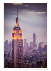 Poster Premium Empire State Building New York