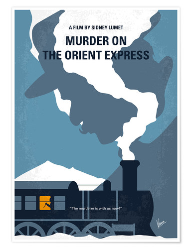 Poster Premium Murder On The Orient Express (Assassinio sull'Orient Express)