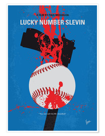 Poster Premium Lucky Number Slevin