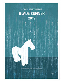 Poster No881 My Blade runner 2049 minimal movie poster