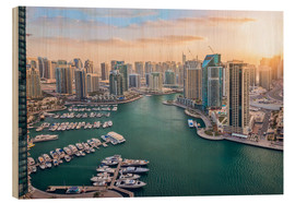 Dieter Meyrl - Dubai Marina at Sunset
