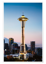 Poster  The Space Needle, Seattle, USA - Matteo Colombo