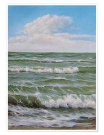 Poster Premium Wave by wave