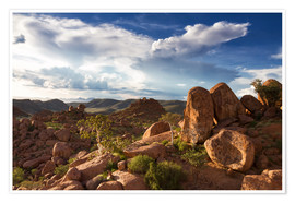 Poster Premium  Beautiful landscape in Damaraland, Namibia, Africa - Circumnavigation