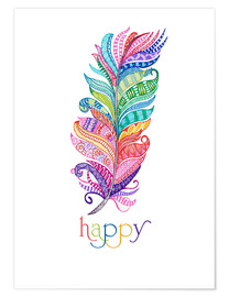Poster Premium  Happy - MiaMia