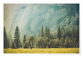 Poster Premium Yosemite Valley