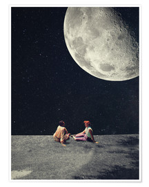 Poster Premium I Gave You The Moon For A Smile
