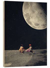 Stampa su legno  I Gave You The Moon For A Smile - Frank Moth