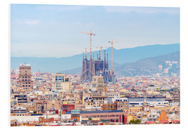 Barcelona with the Cathedral of Gaudí