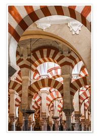 Poster Premium  The Mosque of Cordoba